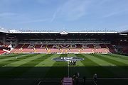Sheffield United ground before the Sky Bet League 1 match between Sheffield Utd and Scunthorpe United at Bramall Lane, Sheffield, England on 8 May 2016. Photo by Ian Lyall.