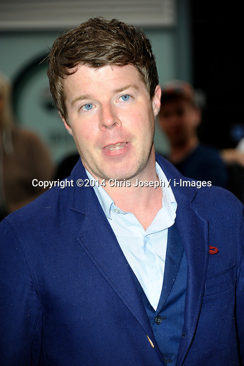 Image ©Licensed to i-Images Picture Agency. 08/07/2014. London, United Kingdom. Stephen Wight during the press night for 'The Curious Incident Of The Dog In The Night-Time' at Gielgud Theatre. Picture by Chris Joseph / i-Images