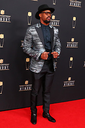 February 2, 2019 - Atlanta, GA, U.S. - ATLANTA, GA - FEBRUARY 02:  Von Miller poses for photos on the red carpet at the NFL Honors on February 2, 2019 at the Fox Theatre in Atlanta, GA. (Photo by Rich Graessle/Icon Sportswire) (Credit Image: © Rich Graessle/Icon SMI via ZUMA Press)