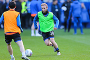 Sheffield Wednesday midfielder Barry Bannan (10) during the warm up ahead of the EFL Sky Bet Championship match between Sheffield Wednesday and Blackburn Rovers at Hillsborough, Sheffield, England on 18 January 2020.