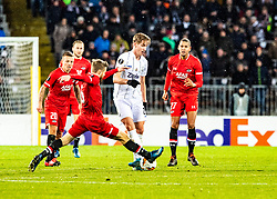 27.02.2020, Linzer Stadion, Linz, AUT, UEFA EL, LASK vs AZ Alkmaar, Sechzehntelfinale, im Bild v.l. Fredrik Midtsjo (AZ Alkmaar), Marko Raguz (LASK) // v.l. Fredrik Midtsjo (AZ Alkmaar), Marko Raguz (LASK) during the UEFA Europa League round of the last 32, 2nd leg match between LASK and AZ Alkmaar at the Linzer Stadion in Linz, Austria on 2020/02/27. EXPA Pictures © 2020, PhotoCredit: EXPA/ Reinhard Eisenbauer