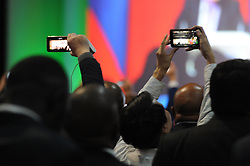 25-07-18 Sandton, Johannesburg. 10th BRICS Summit held at the Sandton Convention Centre. Delegates take photographs before the session go under way. Picture: Karen Sandison/African News Agency (ANA)