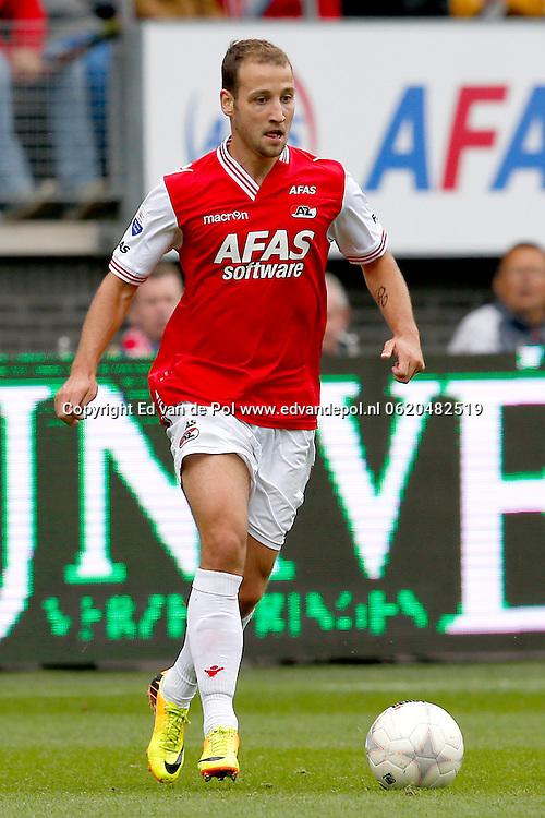 Alkmaar, 01-09-2013, eredivisie, AZ - Vitesse, AFAS Stadion, 1-1, AZ speler Roy Beerens.
