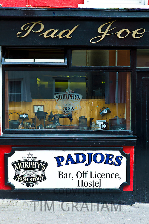 Pad Joe's Bar Off LIcence and Hostel  in Timoleague, West Cork, Ireland