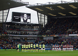 General view during a minutes applause for Brian Pilkington - Mandatory by-line: Jack Phillips/JMP - 22/02/2020 - FOOTBALL - Turf Moor - Burnley, England - Burnley v Bournemouth - English Premier League