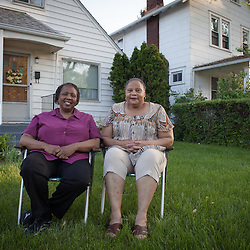 """Markita West and her sister Lurranah have lived in Eastgate most of their lives, and they both own a home on Maryland Avenue. Their brother Joseph West, 48, lives in Eastgate as well on Millbrook Way. Lurranah lives in the home of their parents, Elbert and Peggy West, at 1989 Maryland, which they built in 1953. They moved in when Lurranah was just five-years-old. She remembers the Nelson apartments being just a field. """"Everybody thought we were rich because we moved here,"""" she said."""