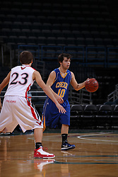 Milwaukee - January 22: This image was made during the 2010-2011 Prep Series  game between Johnson Creek and Hustisford on January 22, 2011 at the Bradley Center in Milwaukee, Wisconsin.