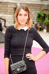 ALEXA CHUNG at the Royal Academy of Arts Summer Party held at Burlington House, Piccadilly, London on 9th June 2010.