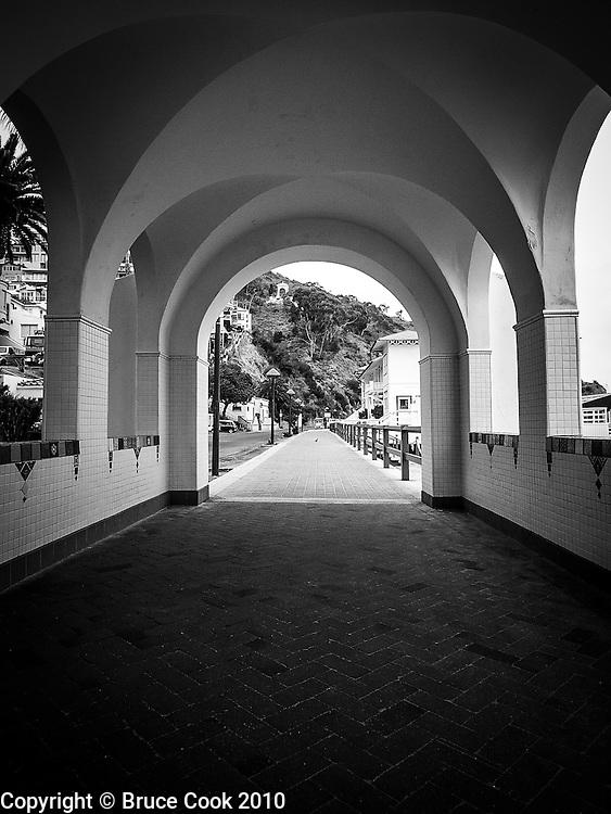 Casino walkway