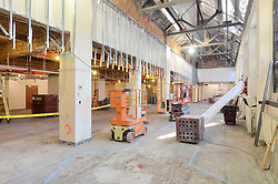 Sterling Memorial Library SML Tech Services Construction Progress. Fourth Photo Submission. First Floor.