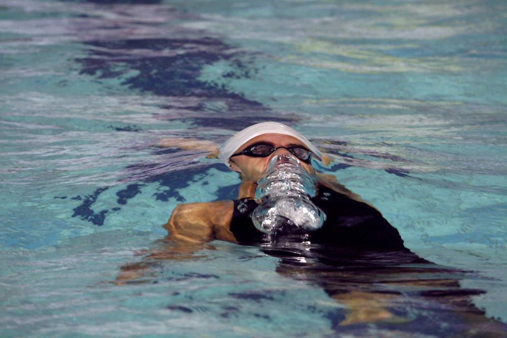 Belo Horizonte_MG, Brasil...Nadador na eliminatoria mundial de natacao 2006. ..A swimmer in the World Swimming 2006...Foto: LEO DRUMOND / NITRO
