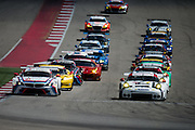September 19, 2015: Tudor at Circuit of the Americas. GT cars start the Lone Star 2.5 hr endurance race.