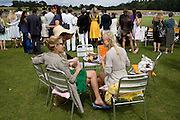 MARTHA WARD; DIXIE CHASSAY; ALICE EVE 2008 Veuve Clicquot Gold Cup Polo final at Cowdray Park. Midhurst. 20 July 2008 *** Local Caption *** -DO NOT ARCHIVE-© Copyright Photograph by Dafydd Jones. 248 Clapham Rd. London SW9 0PZ. Tel 0207 820 0771. www.dafjones.com.