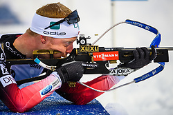 March 16, 2019 - –Stersund, Sweden - 190316 Johannes Thingnes Bø of Norway competes in the Men's 4x7,5 km Relay during the IBU World Championships Biathlon on March 16, 2019 in Östersund..Photo: Petter Arvidson / BILDBYRÃ…N / kod PA / 92269 (Credit Image: © Petter Arvidson/Bildbyran via ZUMA Press)