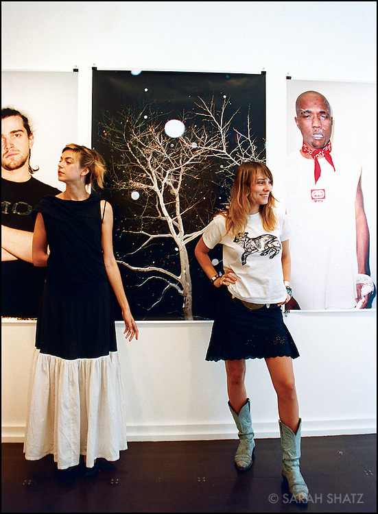 Melissa Bent & Mirabelle Marden: owners and directors, Rivington Arms Gallery