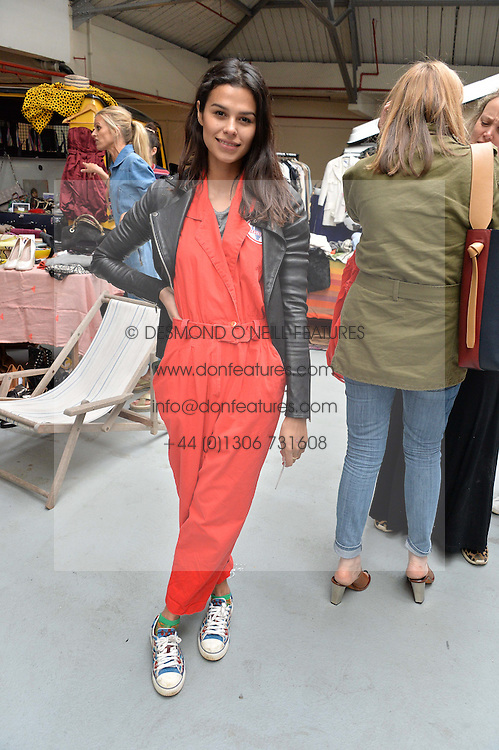 KATIE KEIGHT at #SheInspiresMe Car Boot Sale in Aid of Women for Women International held at the Brewer Street Carpark, Soho, London on 23rd April 2016.