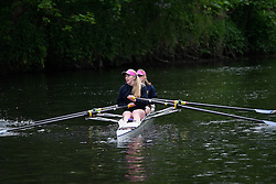© Licensed to London News Pictures.13/06/15<br /> Durham, England<br /> <br /> A rowing crew wait for their turn to race during the 182nd Durham Regatta rowing event held on the River Wear. The origins of the regatta date back  to commemorations marking victory at the Battle of Waterloo in 1815. This is the second oldest event of this type in the country and attracts over 2000 competitors from across the country.<br /> <br /> Photo credit : Ian Forsyth/LNP