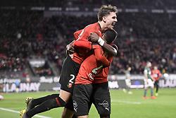 February 10, 2019 - Rennes, France - 23 ADRIEN HUNOU (REN) - JOIE (Credit Image: © Panoramic via ZUMA Press)