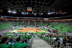 Arena during basketball match between KK Cedevita Olimpija and KK Igokea in Round #14 of ABA League 2019/20, on January 5, 2020 in Arena Stozice, Ljubljana, Slovenia. Photo by Vid Ponikvar/ Sportida