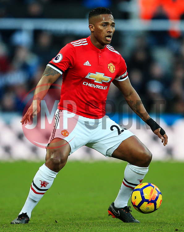 Luis Antonio Valencia of Manchester United - Mandatory by-line: Matt McNulty/JMP - 11/02/2018 - FOOTBALL - St James Park - Newcastle upon Tyne, England - Newcastle United v Manchester United - Premier League