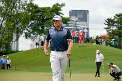 October 13, 2018 - Kuala Lumpur, Malaysia - Austin Cook of United States pictured during round three of the CIMB Classic at TPC Kuala Lumpur on 13 October, 2018 in Kuala Lumpur, Malaysia  (Credit Image: © Chris Jung/NurPhoto via ZUMA Press)