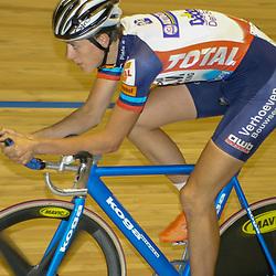 ALKMAAR (NED) wielrennen<br />NK Baanwielrennen ; mannen 2004,; Achtervolging; Niki Terpstra