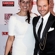 NLD/Amsterdam/20131111 - Beau Monde Awards 2013, Ellen Litz en Fred van Leer