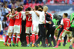 Arsenal celebrate beating Chelsea in the FA Cup final  - Mandatory by-line: Dougie Allward/JMP - 27/05/2017 - FOOTBALL - Wembley Stadium - London, England - Arsenal v Chelsea - Emirates FA Cup Final