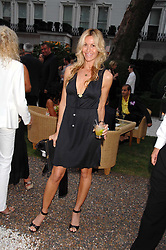 MELISSA ODABASH at a party to celebrate Le Touessrok a luxury resort in Mauritius, held at The Hempel, 31-35 Craven Hill Gardens, London W2 on 12th June 2007.<br />