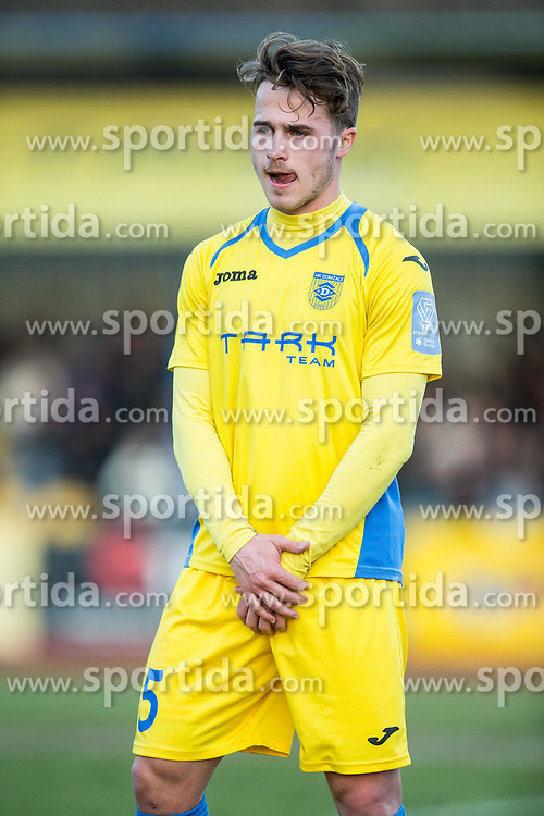 Jan Repas of NK Domzale during football match between NK Domzale and NK Olimpija Ljubljana in 24th Round of Prva liga Telekom Slovenije 2016/17, on March 12, 2017 in Sports park, Domzale, Slovenia. Photo by Vid Ponikvar / Sportida
