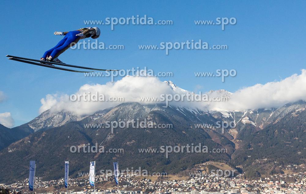 03.01.2017, Bergiselschanze, Innsbruck, AUT, FIS Weltcup Ski Sprung, Vierschanzentournee, Innsbruck, Training, im Bild Daiki Ito (JPN) // Daiki Ito of Japan during his Practice Jump for the Four Hills Tournament of FIS Ski Jumping World Cup at the Bergiselschanze in Innsbruck, Austria on 2017/01/03. EXPA Pictures © 2017, PhotoCredit: EXPA/ Jakob Gruber