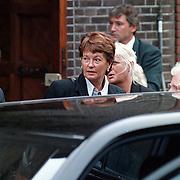Begrafenis oma Leontine Ruiters, moeder