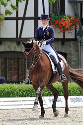 De Coninck Eline (BEL) - Don Warohn Edc<br /> European Championships Junior 2010<br /> © Hippo Foto - Leanjo de Koster
