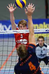 20181027 NED: Eredivisie, SV Land Taurus - Achterhoek Orion: Houten<br />Timo Gras (3) of SV Land Taurus<br />©2018-FotoHoogendoorn.nl / Pim Waslander