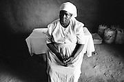 LOKICHOGGIO, KENYA - JANUARY 15, 2008: Portrait of a Kenyan woman.