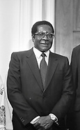 President of Zimbabwe Robert Mugabe