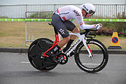 Thursday 7th September 2017: Team Sky rider, Michal Kwiatkowski, was 7th on the day. The stage was an ITT around the Tendring district.