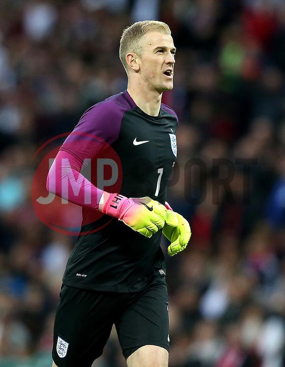Joe Hart of England - Mandatory by-line: Robbie Stephenson/JMP - 02/06/2016 - FOOTBALL - Wembley Stadium - London, United Kingdom - England v Portugal - International Friendly