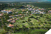 Aerial views of Rio Mar golf resort