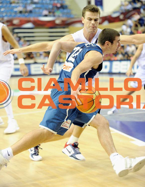 DESCRIZIONE : Championnat Du Monde 2010 Turquie Izmir Tour Preliminaire <br /> GIOCATORE : De Colo Nando<br /> SQUADRA : France <br /> EVENTO : Championnat du monde 2010<br /> GARA : France Nouvelle Zelande<br /> DATA : 2/09/2010<br /> CATEGORIA : Basketball Action Homme<br /> SPORT : Basketball<br /> AUTORE : JF Molliere FFBB par Agenzia Ciamillo-Castoria <br /> Galleria : France Basket Championnat du monde 2010<br /> Fotonotizia : Championnat du monde Turquie Izmir Tour Preliminaire Jour 6 <br /> Predefinita :