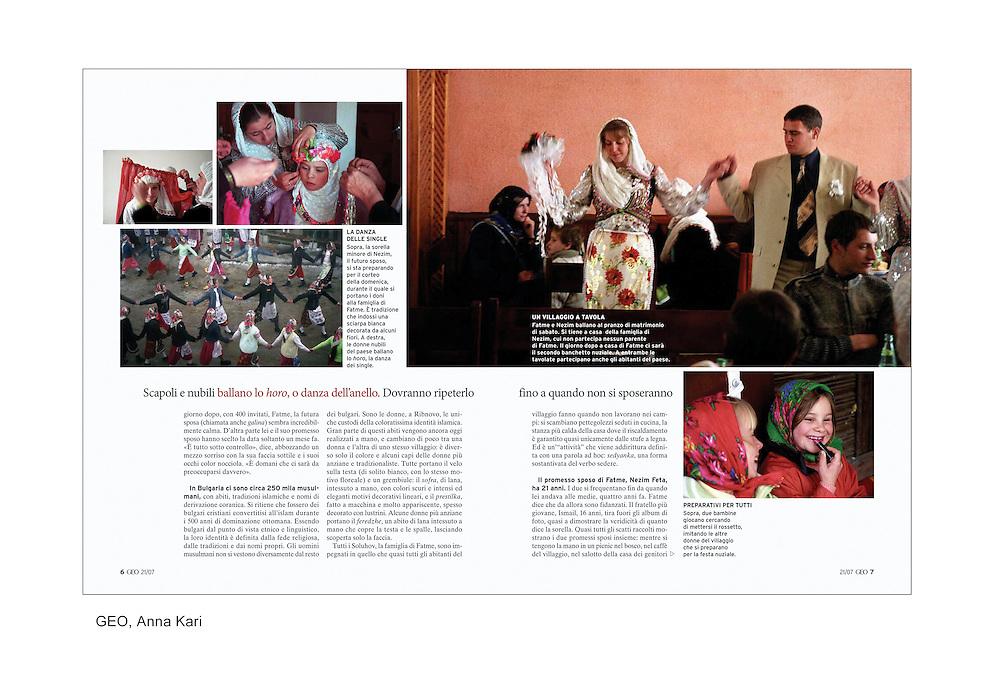 Geo magazine publication