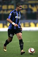 Milano 30-10-2004<br /> <br /> Campionato di calcio Serie A 2004-05<br /> <br /> Inter Lazio 1-1<br /> <br /> nella  foto Adriano Inter<br /> <br /> Foto Snapshot / Graffiti