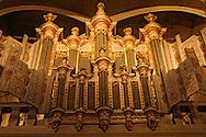 France, Languedoc Roussillon, Gard, Uzège, Uzès, cathédrale Saint-Théodorit, l'orgue