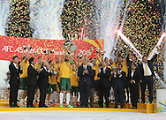 Australia win the Asian cup at Stadium Australia, Sydney<br /> Picture by Steven Gibson/Focus Images Ltd +61 413 768835<br /> 31/01/2015