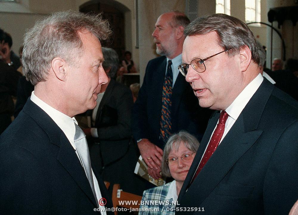 Mattheus Passion 1999, Paul Witteman in gesprek met Klaas de Vries