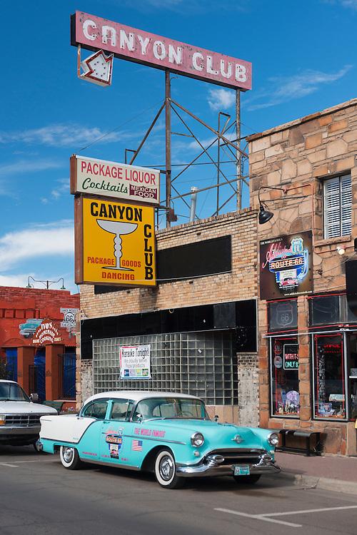 USA, Arizona,Route 66, Williams