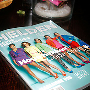 NLD/Ridderkerk/20120911 - Presentatie magazine Helden, Manon Flier en partner Reinder Nummerdor