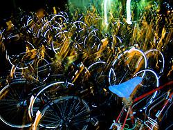Bikesat the train station