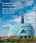 PRODUCT: Postage Stamp Booklet <br /> TITLE: Canadian Museum for Human Rights<br /> CLIENT: Canada Post