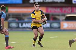 Bryce Heem of Worcester Warriors - Mandatory by-line: Dougie Allward/JMP - 04/02/2017 - RUGBY - BT Sport Cardiff Arms Park - Cardiff, Wales - Cardiff Blues v Worcester Warriors - Anglo Welsh Cup
